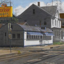John Baeder-Diner - Belvidere New Jersey-1983