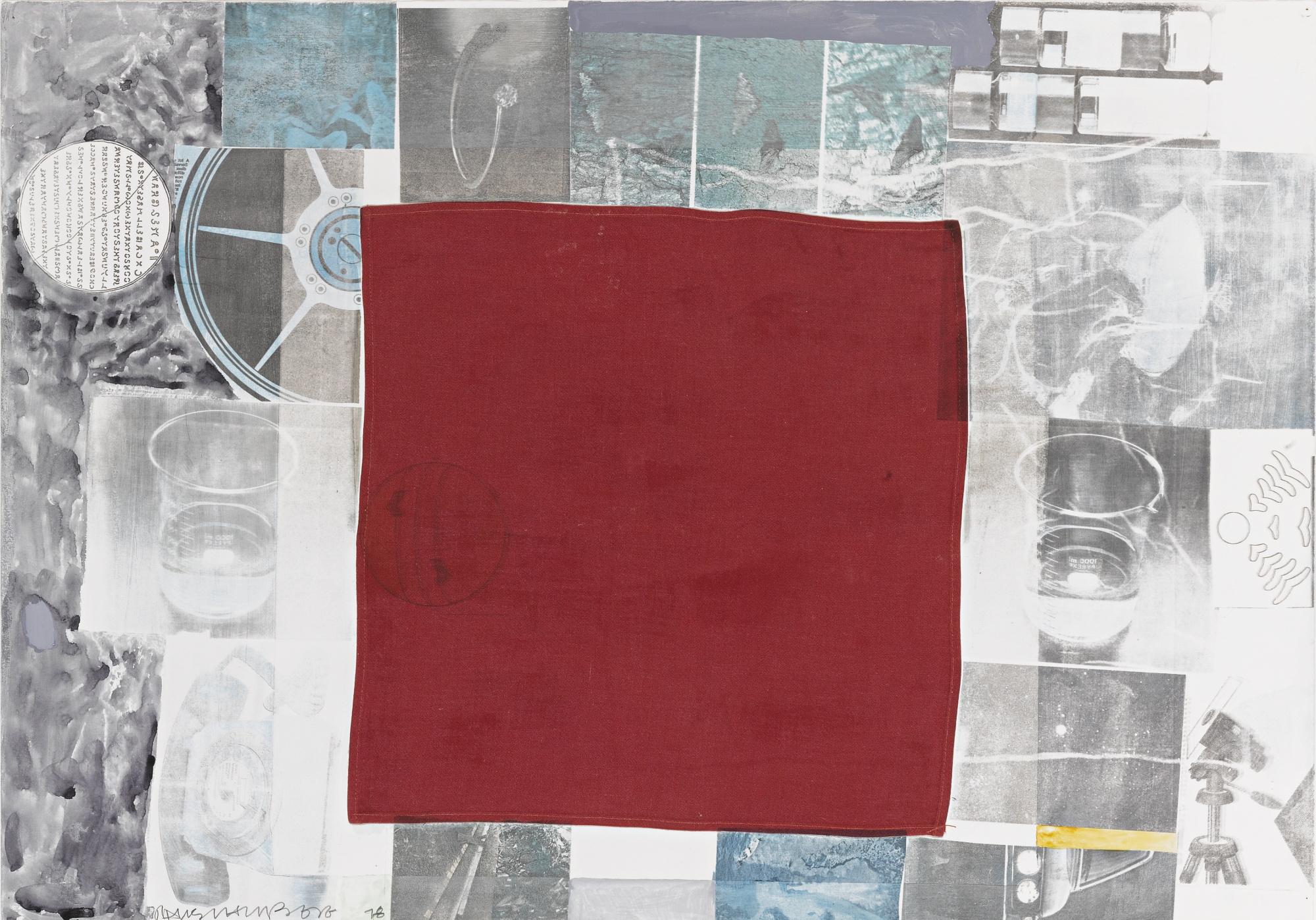 Robert Rauschenberg-Untitled-1978