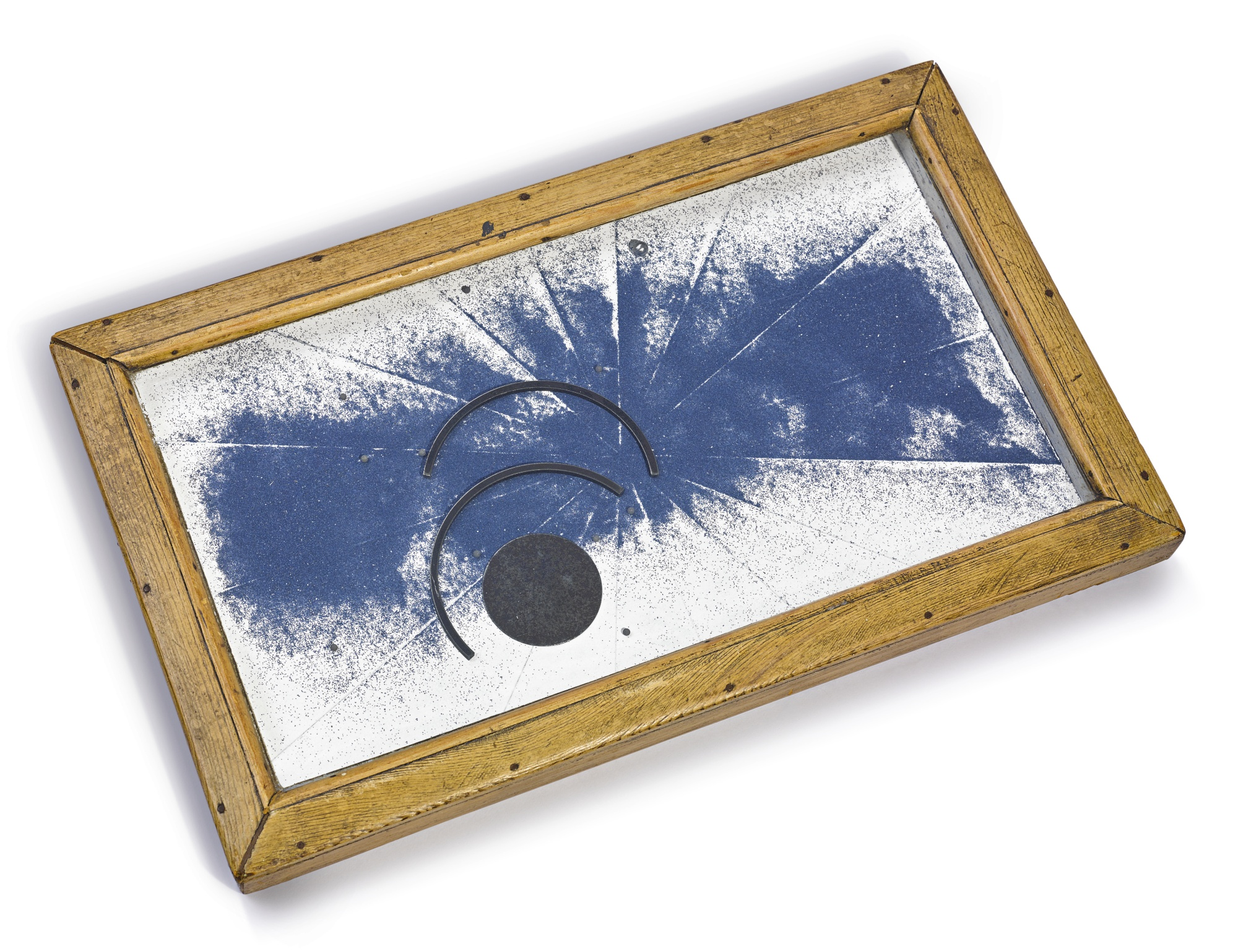 Joseph Cornell-Untitled (Blue Sand Tray)-1954