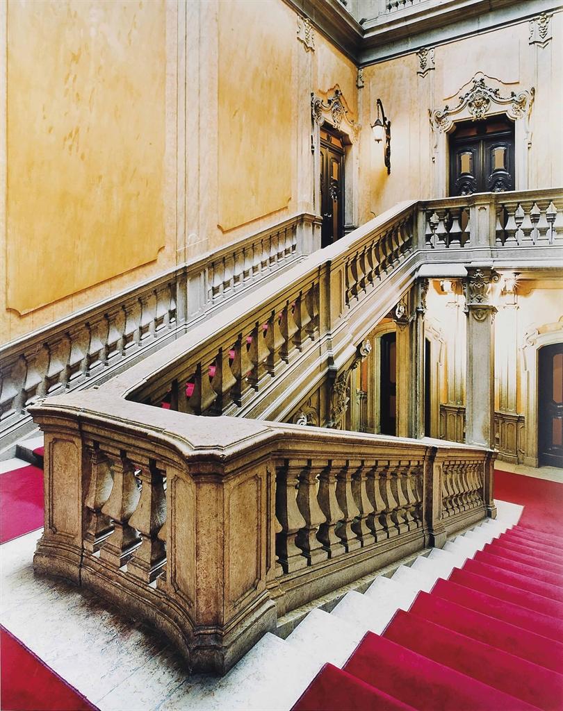Candida Hofer-Ministério da Economia e da Inovação Palácio da Horta Seca Lisboa II 2005 (Ministry of Economy and Innovation Horta Seca Palace Lisbon II 2005)-2005
