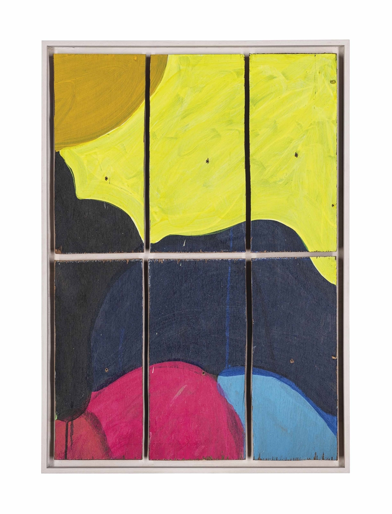 Mary Heilmann-Rompe Cabeza Uno-2000