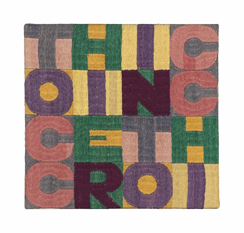 Alighiero Boetti-Tocchi e Rintocchi (Touches and Strokes)-1982