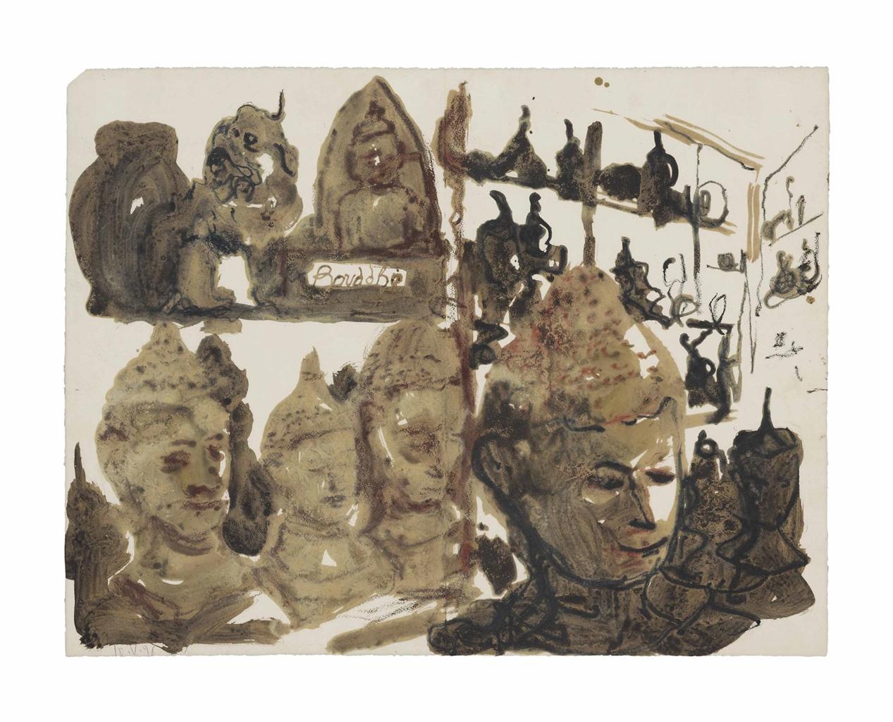 Miquel Barcelo-Untitled-1995