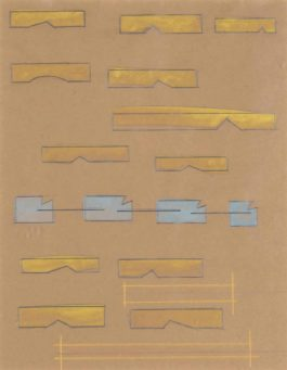 Lawrence Weiner-Mounds + Related Structures-1984