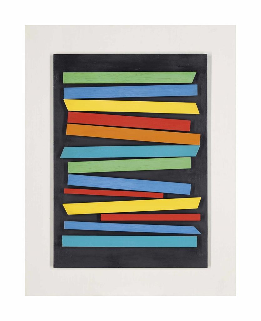 Henryk Stazewski-Relief Kolorowy (Coloured Relief)-1961