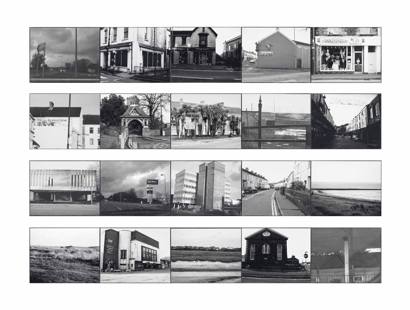 Dan Rees-One Afternoon and Evening in Lianelli; An ode to Cerith Wyn Evans-2006