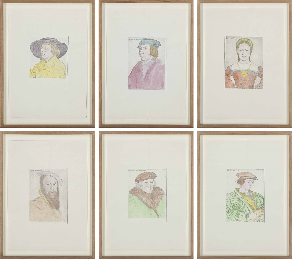Hans-Peter Feldmann-Untitled (Portraits after Holbein)-1977