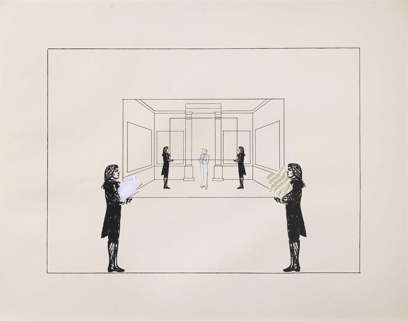 Giulio Paolini-Sottosopra (Upside Down)-2005