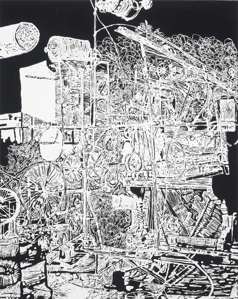 Michael Landy-H.2.N.Y. Modern Art Goes Boom-2006