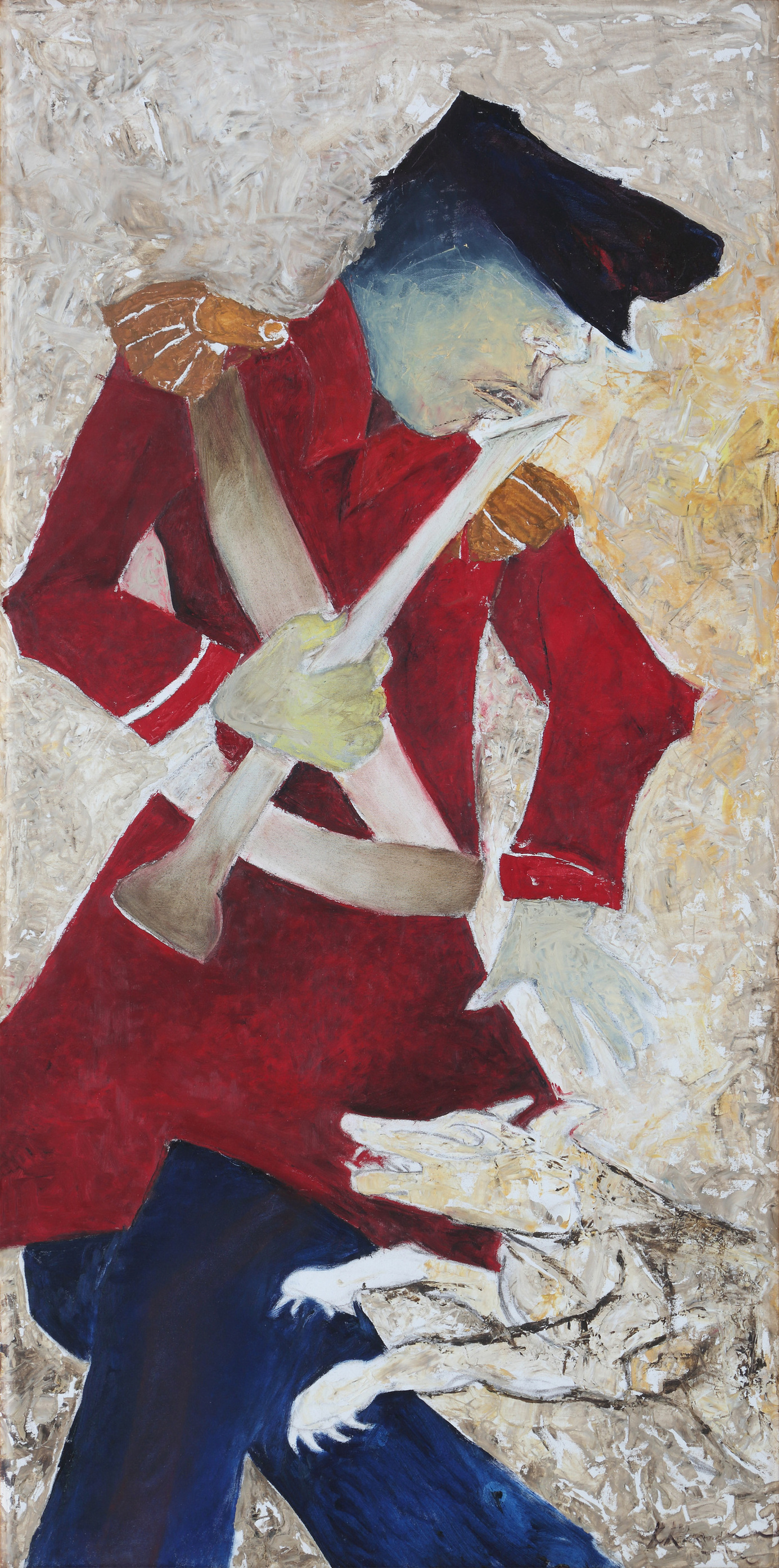 Krishen Khanna-Untitled (Bandwallah)-2000