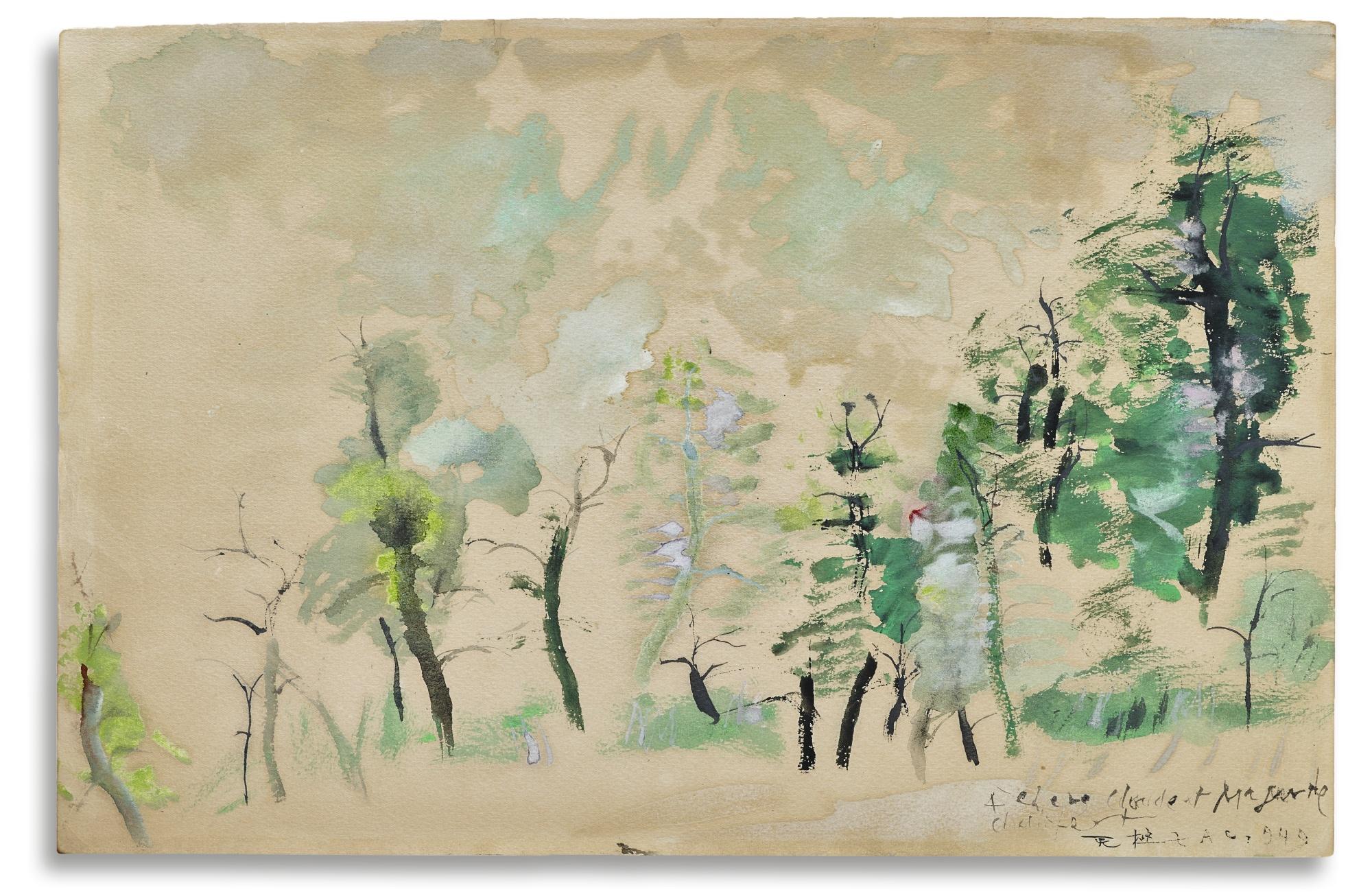 Zao Wou-Ki-Untitled-1948