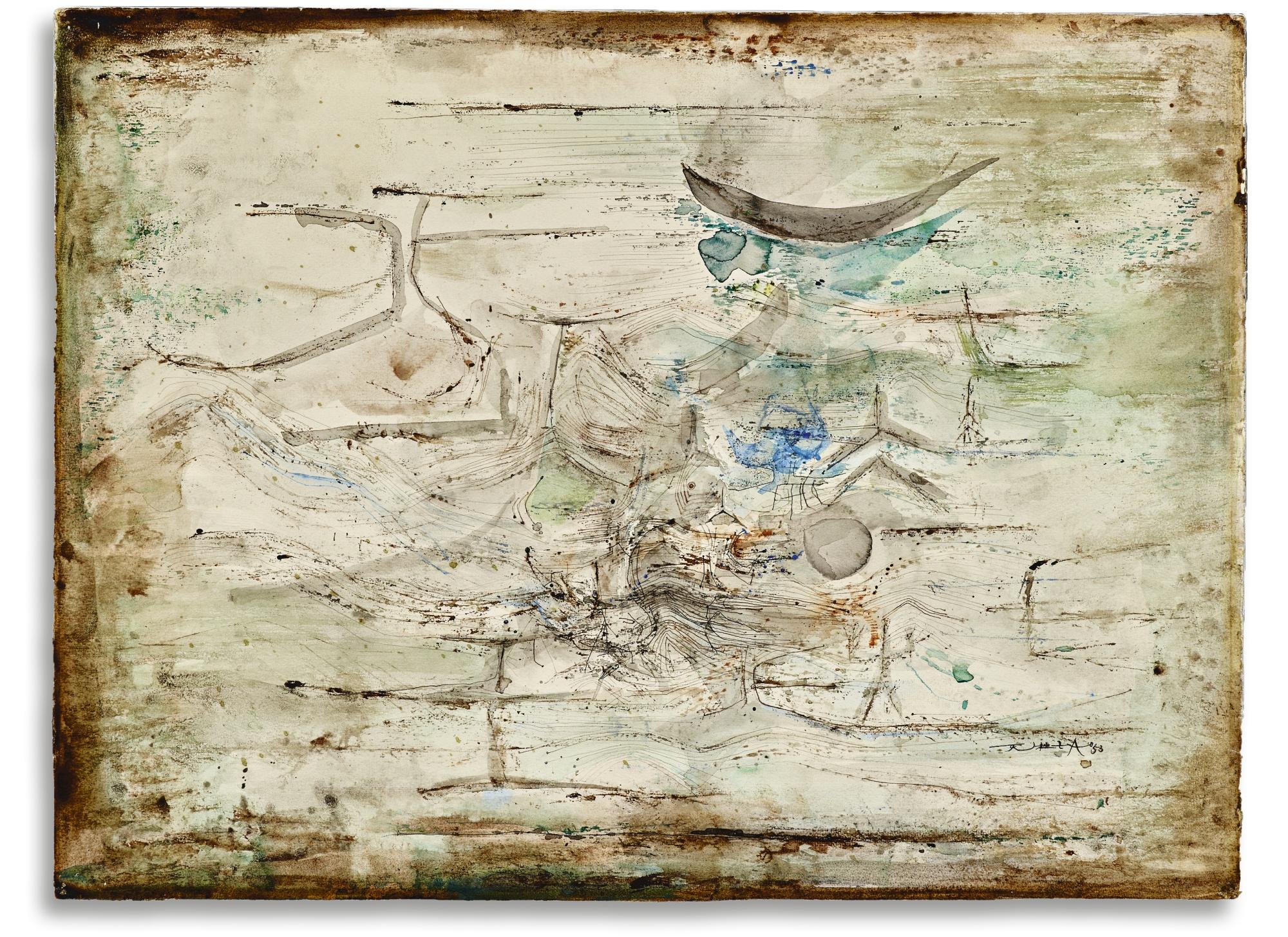 Zao Wou-Ki-Untitled-1953