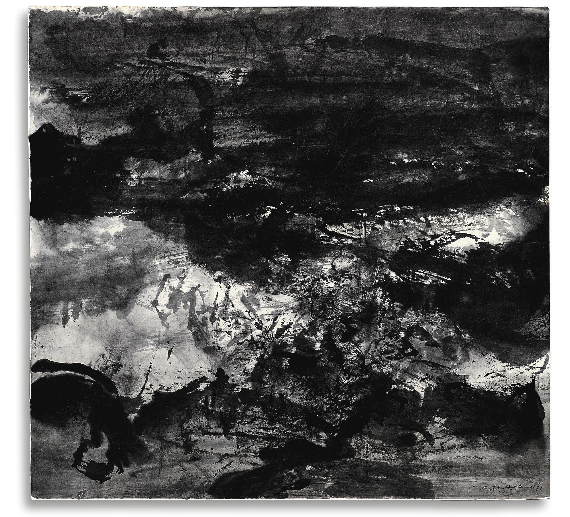 Zao Wou-Ki-Untitled-1971