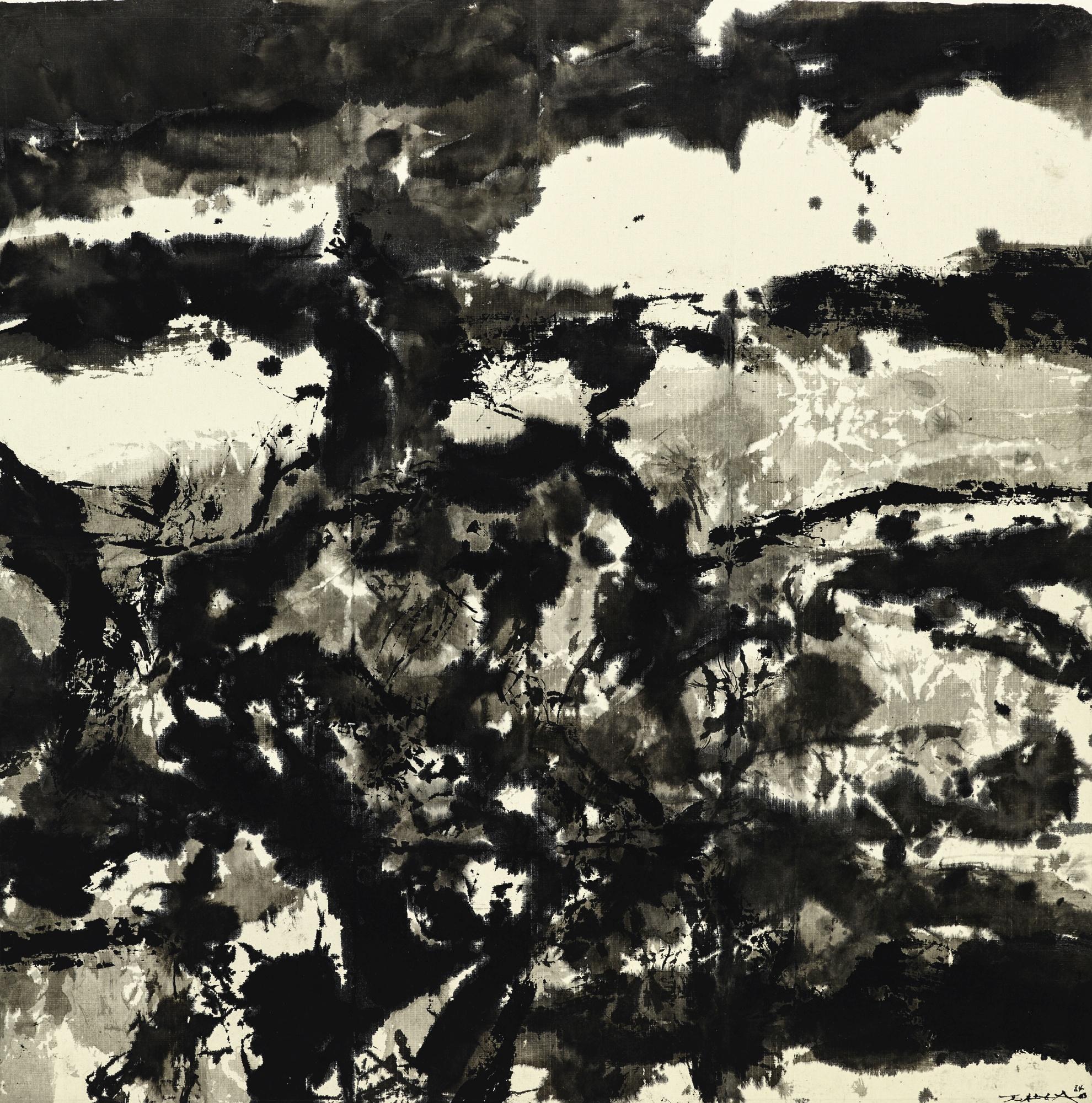 Zao Wou-Ki-Composition-1984