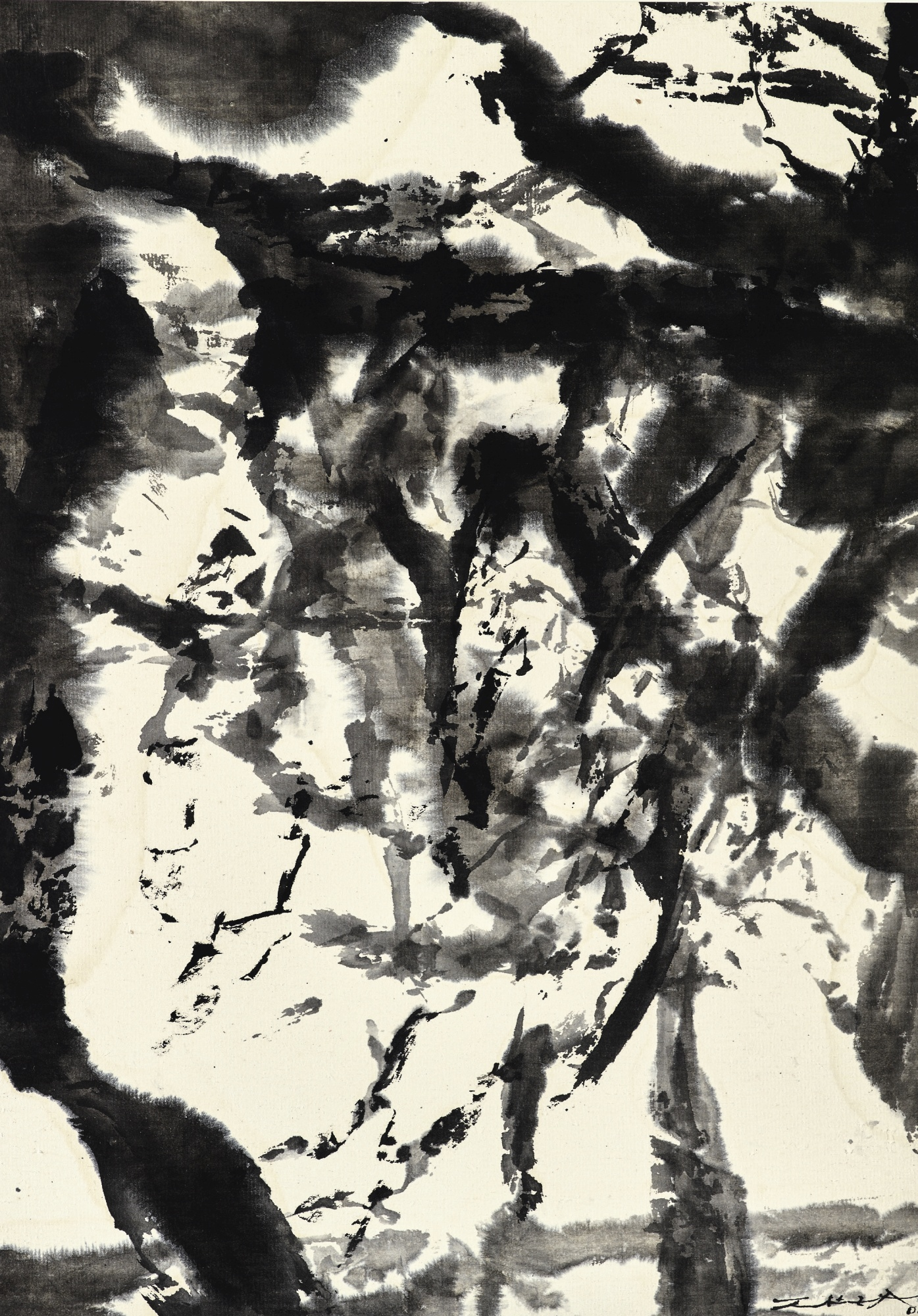 Zao Wou-Ki-Untitled-2000