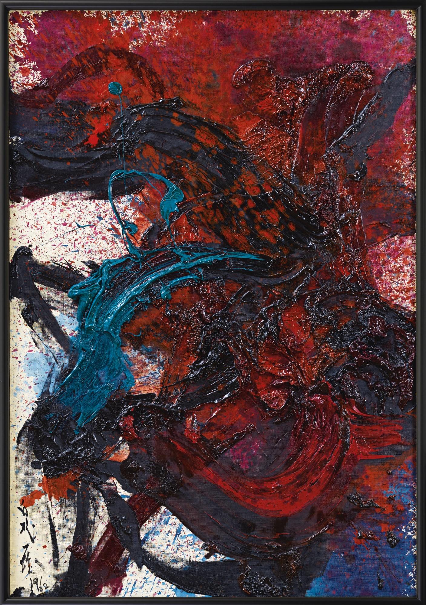 Kazuo Shiraga-Work-1962