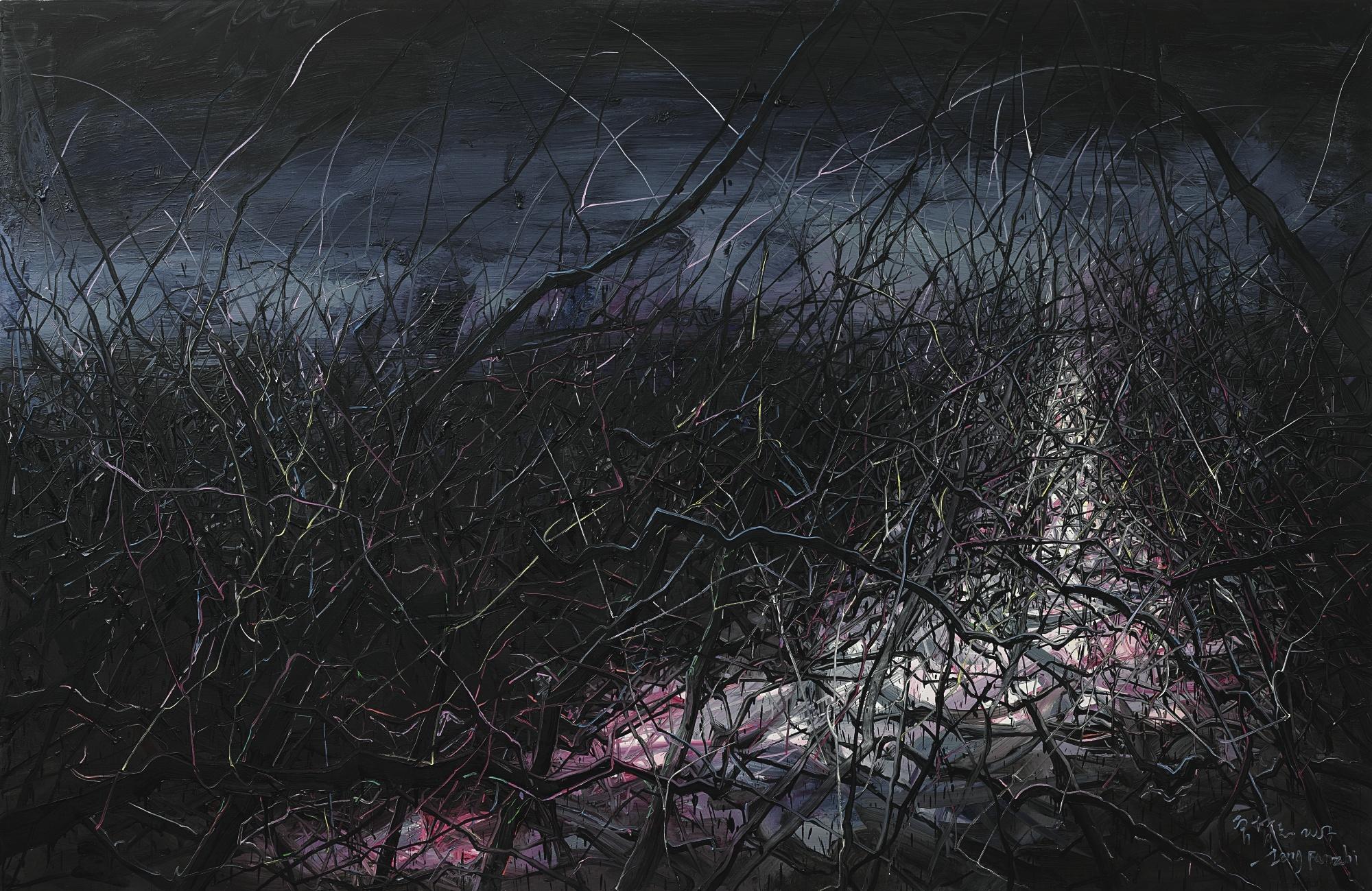 Zeng Fanzhi-Landscape-2007