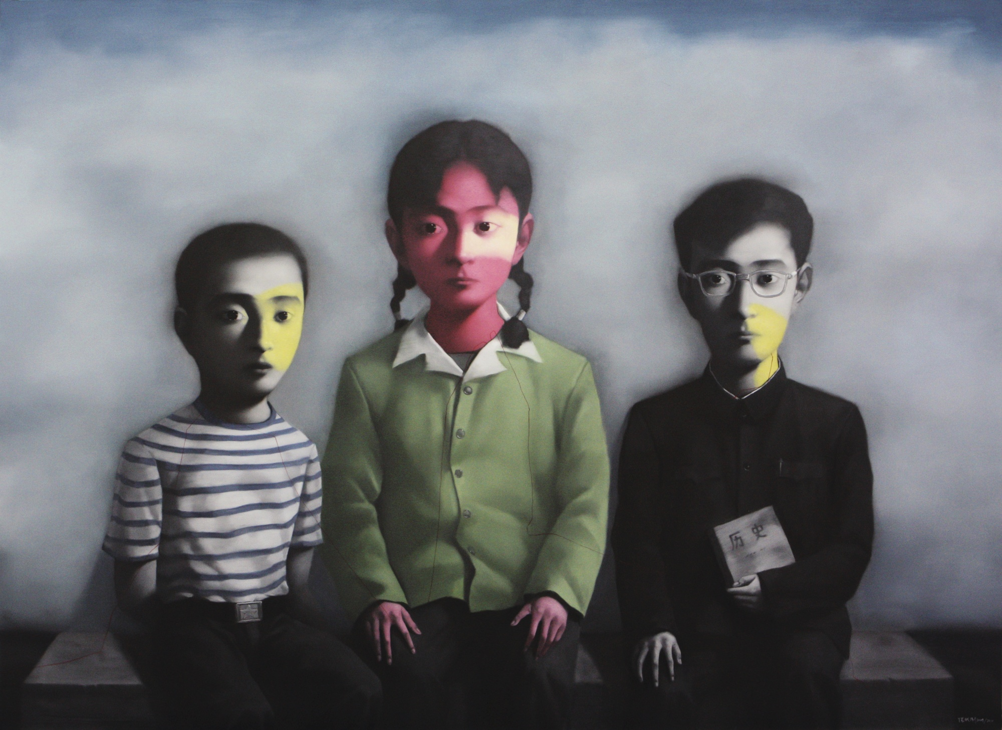 Zhang Xiaogang-Sisters And Brothers-2010