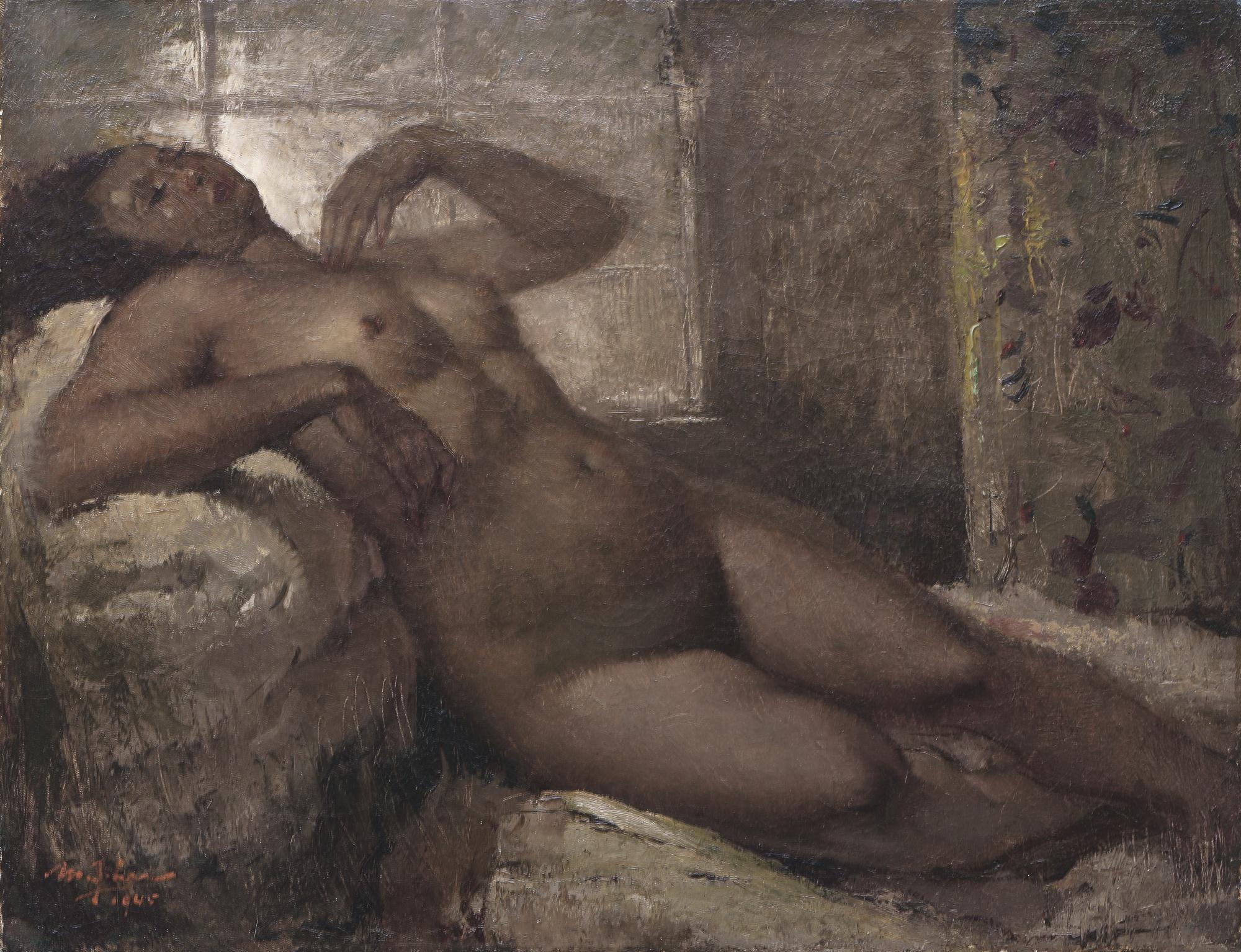Lee Man Fong-Telanjang (Nude)-1945