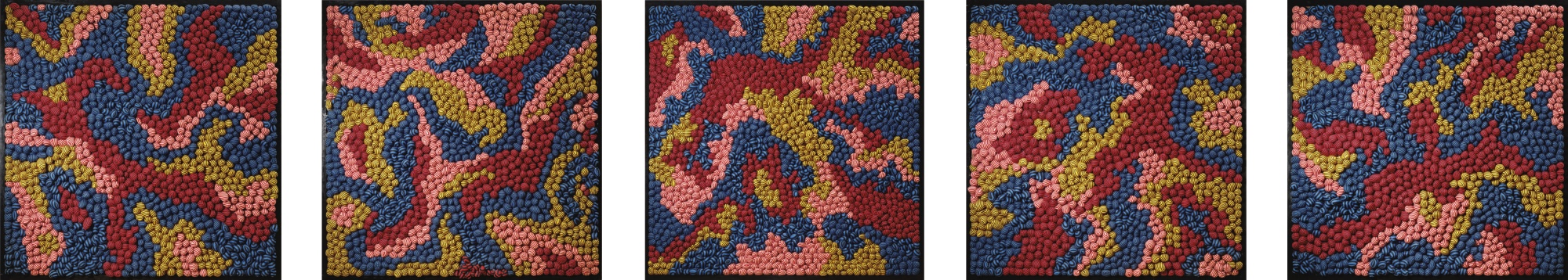 Yayoi Kusama-Between Heaven And Earth (Set Of Five)-1987