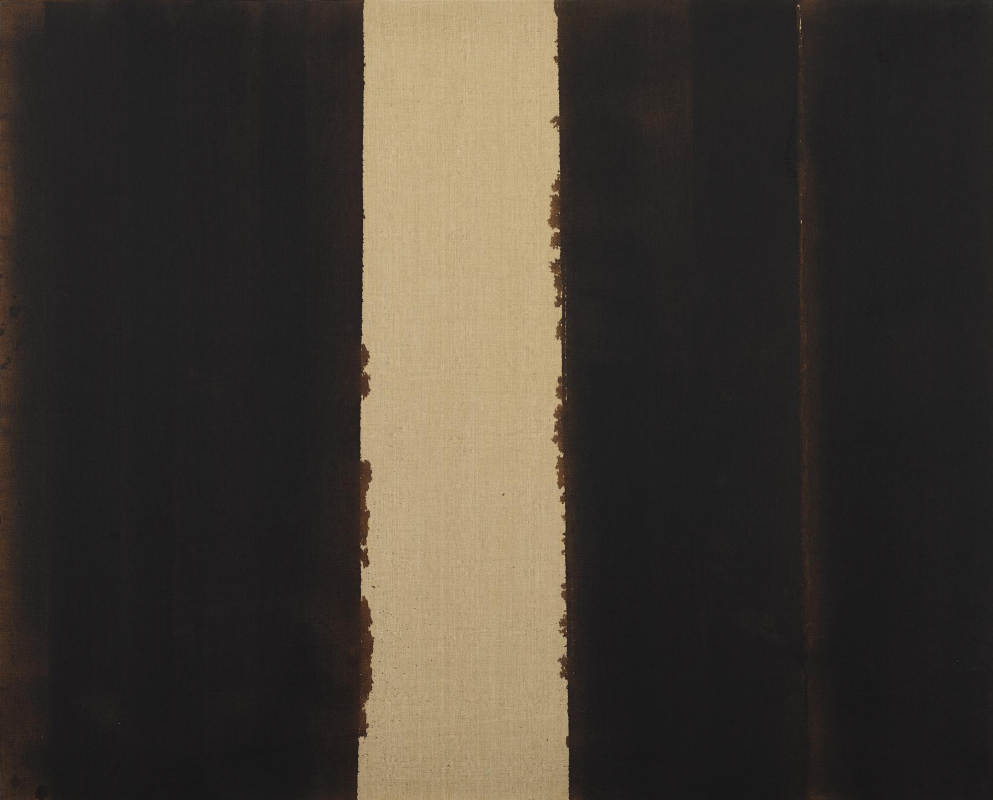 Yun Hyong-Keun-Burnt Umber & Ultramarine-1990