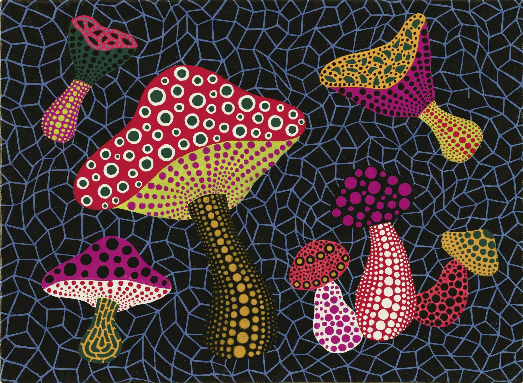 Yayoi Kusama-Mushrooms (Obst)-2003