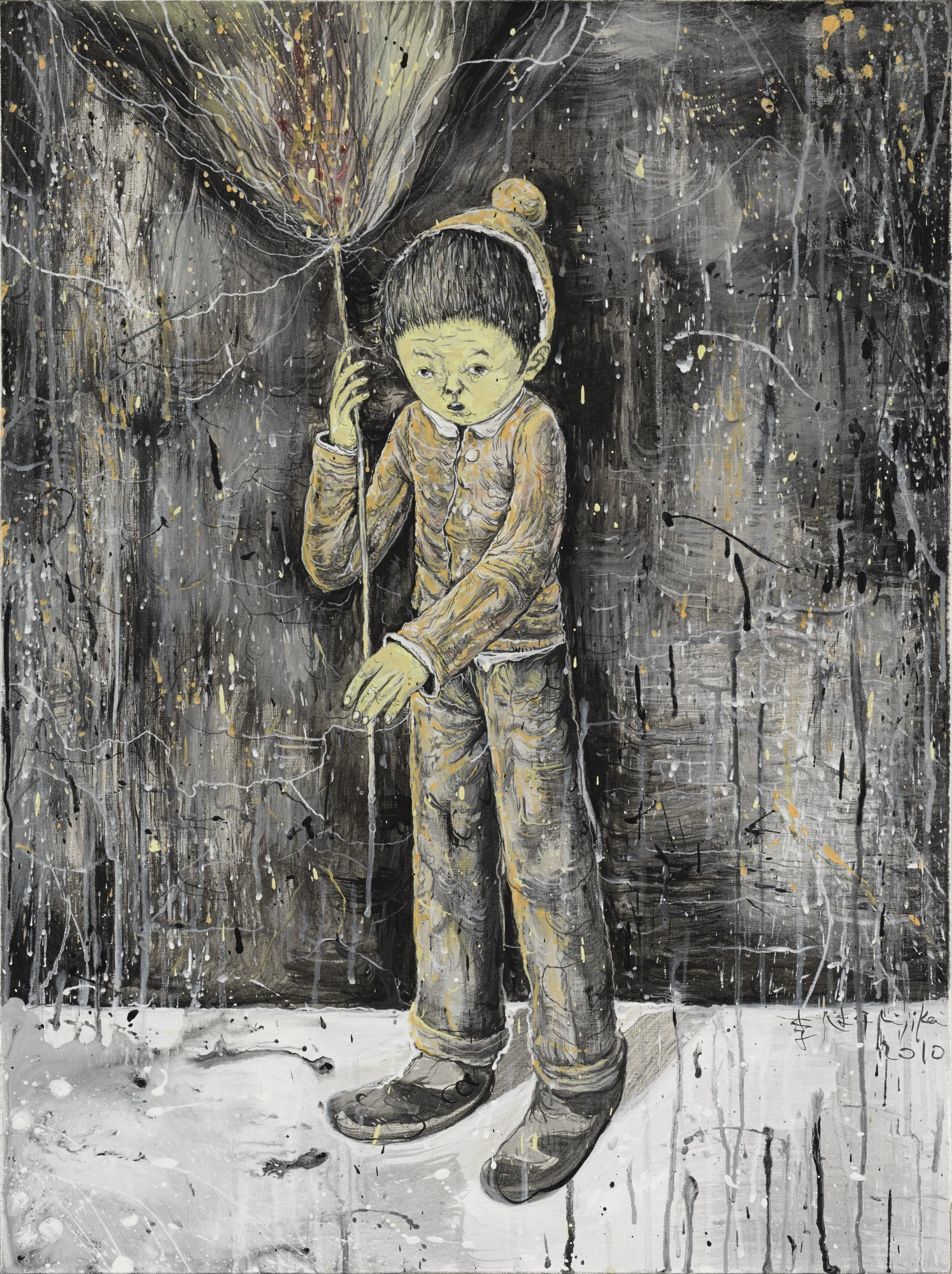 Li Jikai-Walking In Moonlight-2010