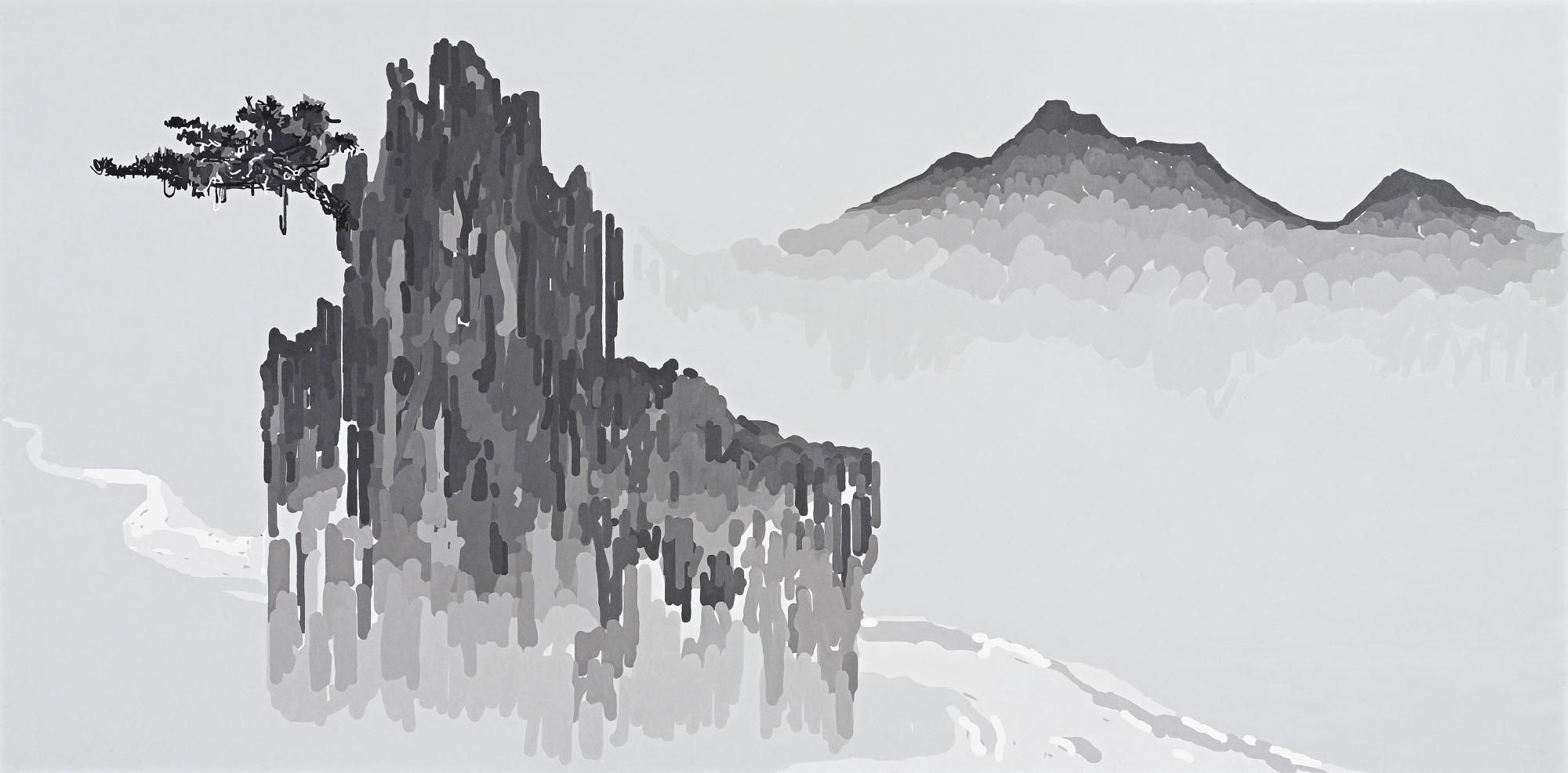 Liu Wei-Landscape-2006
