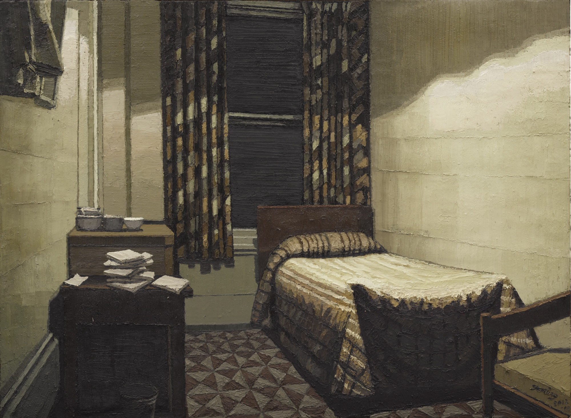 Zhang Yexing-Untitled - Bedroom-2012