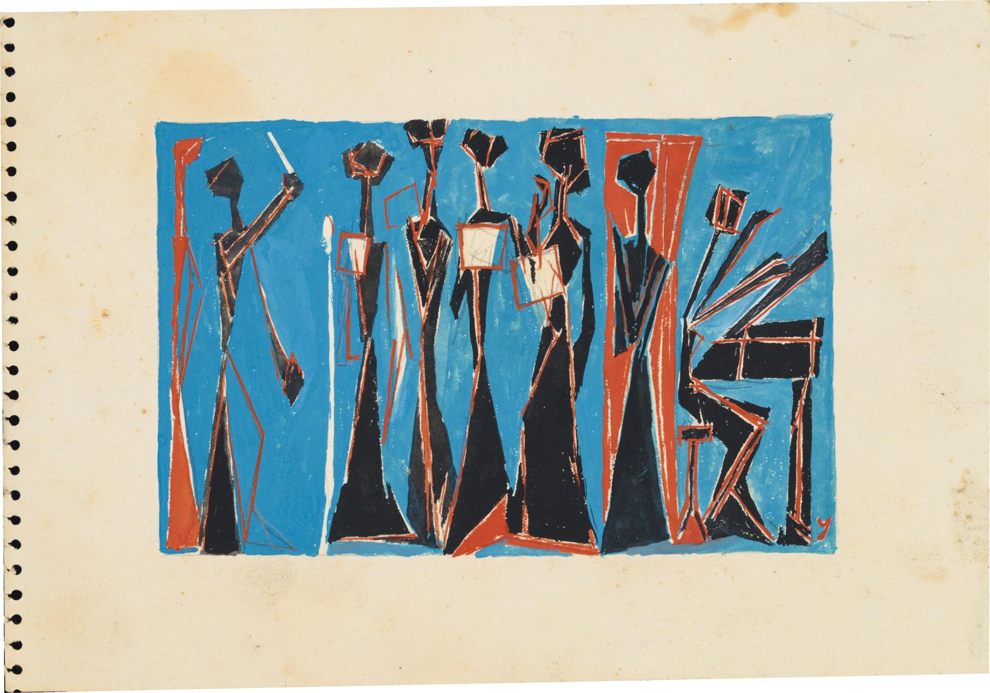 Jiro Yoshihara-Work-1949
