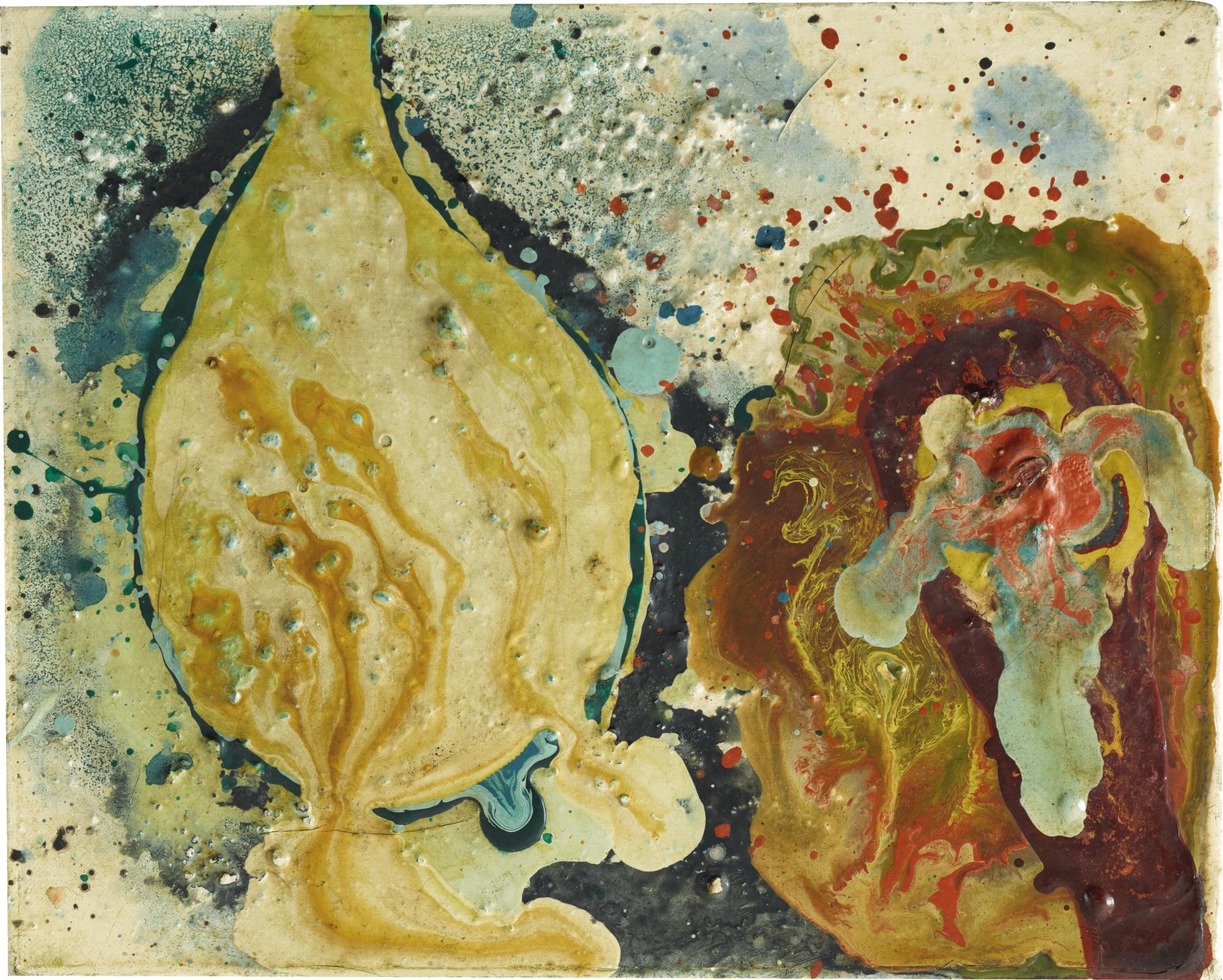 Sadamasa Motonaga-Untitled-1961