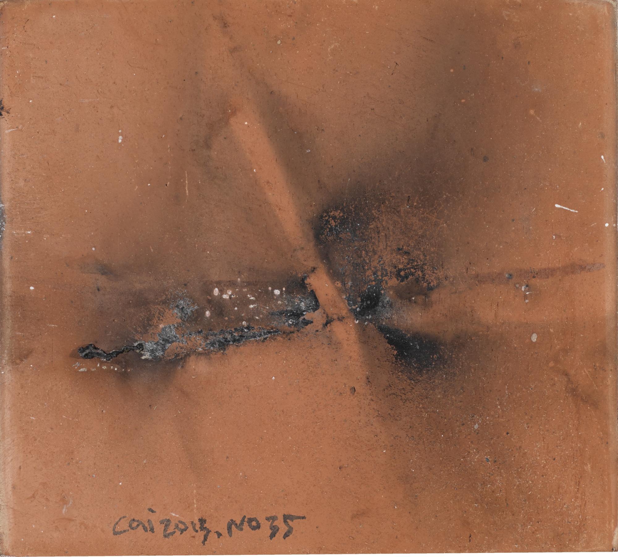 Cai Guo-Qiang-Untitled No. 35-2013