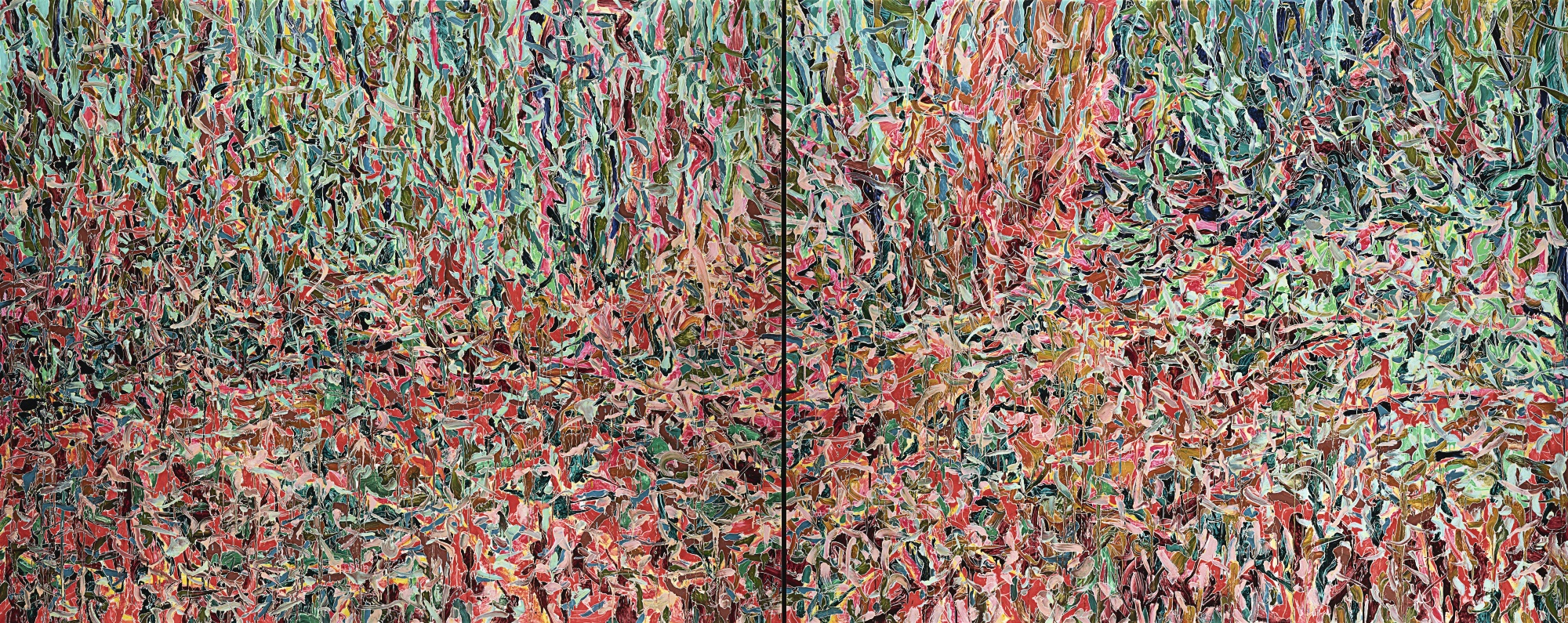Xue Feng-Flashback-20 (Diptych)-2011