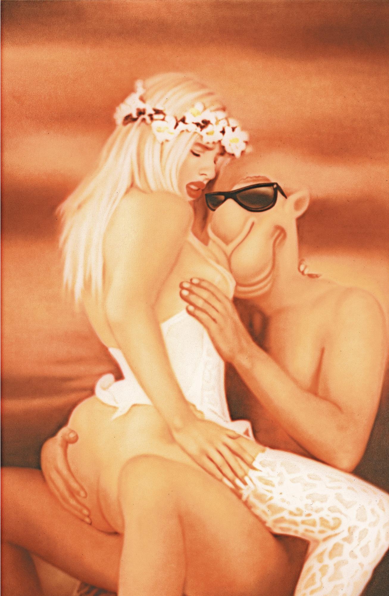Zhou Tiehai-Ego Project: Jeff Koons-2006