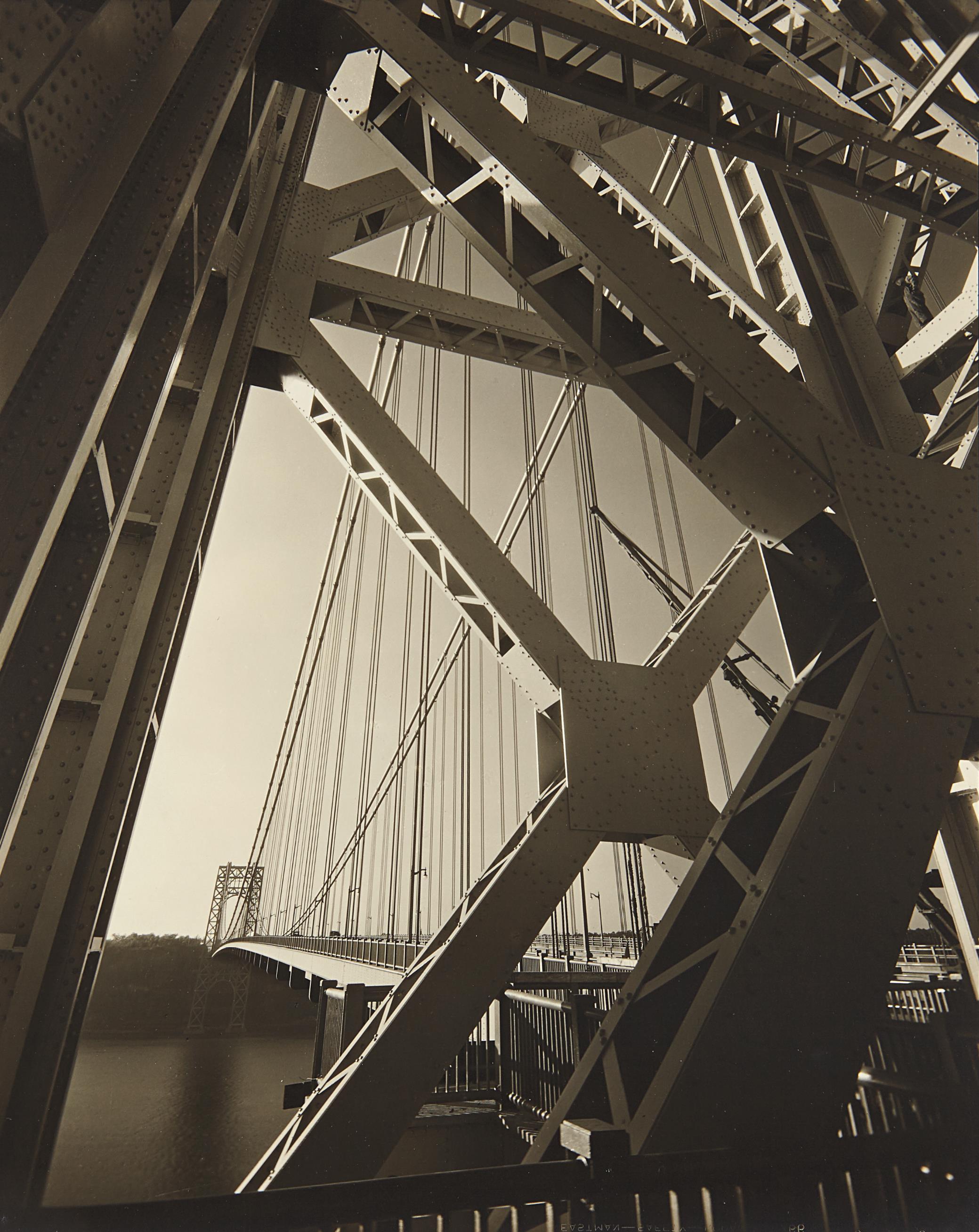Edward Steichen-George Washington Bridge, New York-1931