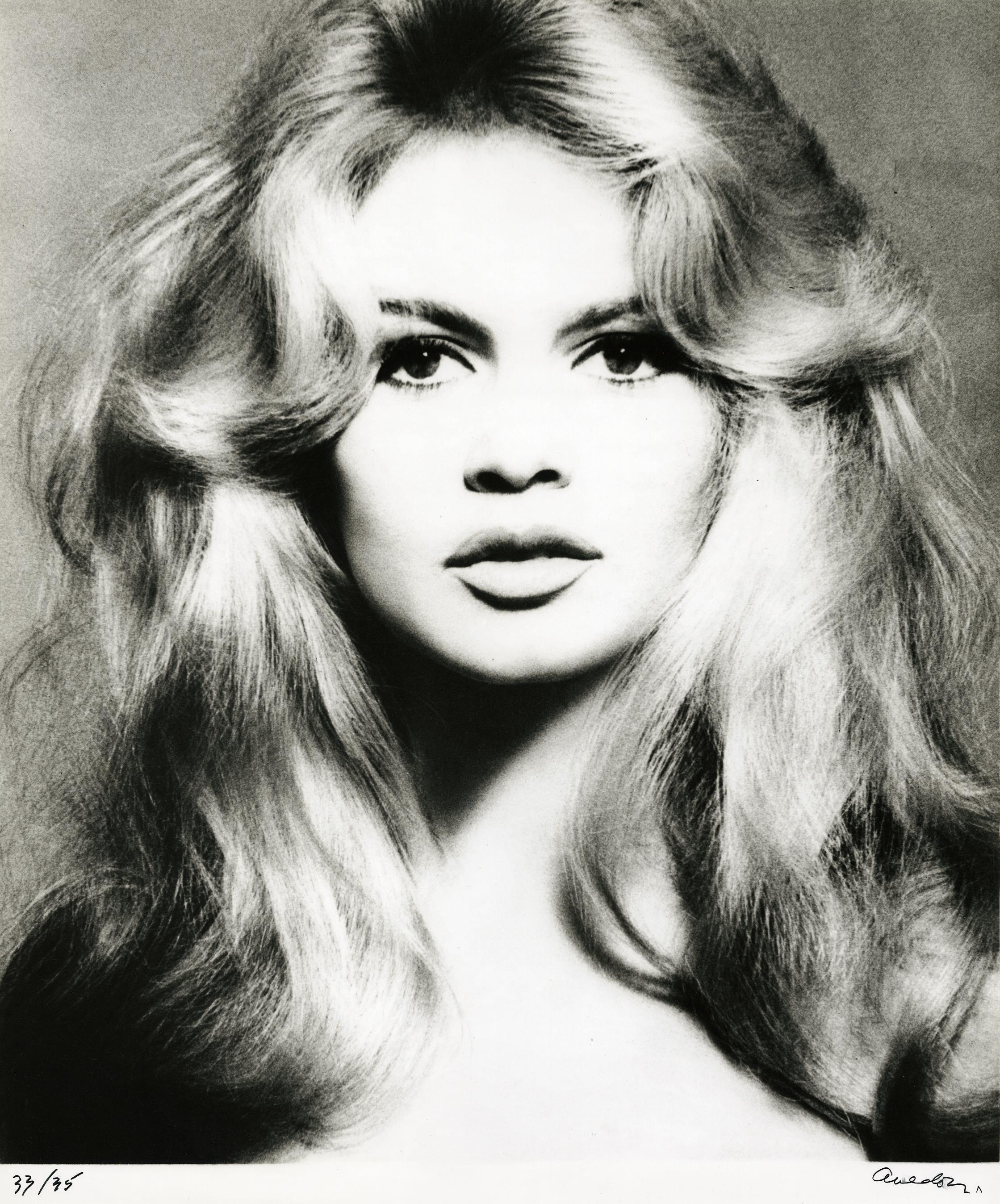 Richard Avedon-Brigitte Bardot, Hair By Alexandre, Paris, January 27, 1959-1959