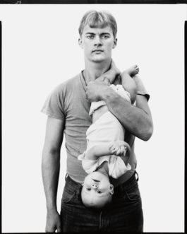 Richard Avedon-John Harrison, Lumber Salesman, And His Daughter Melissa, Lewisville, Texas, November 22, 1981-1981
