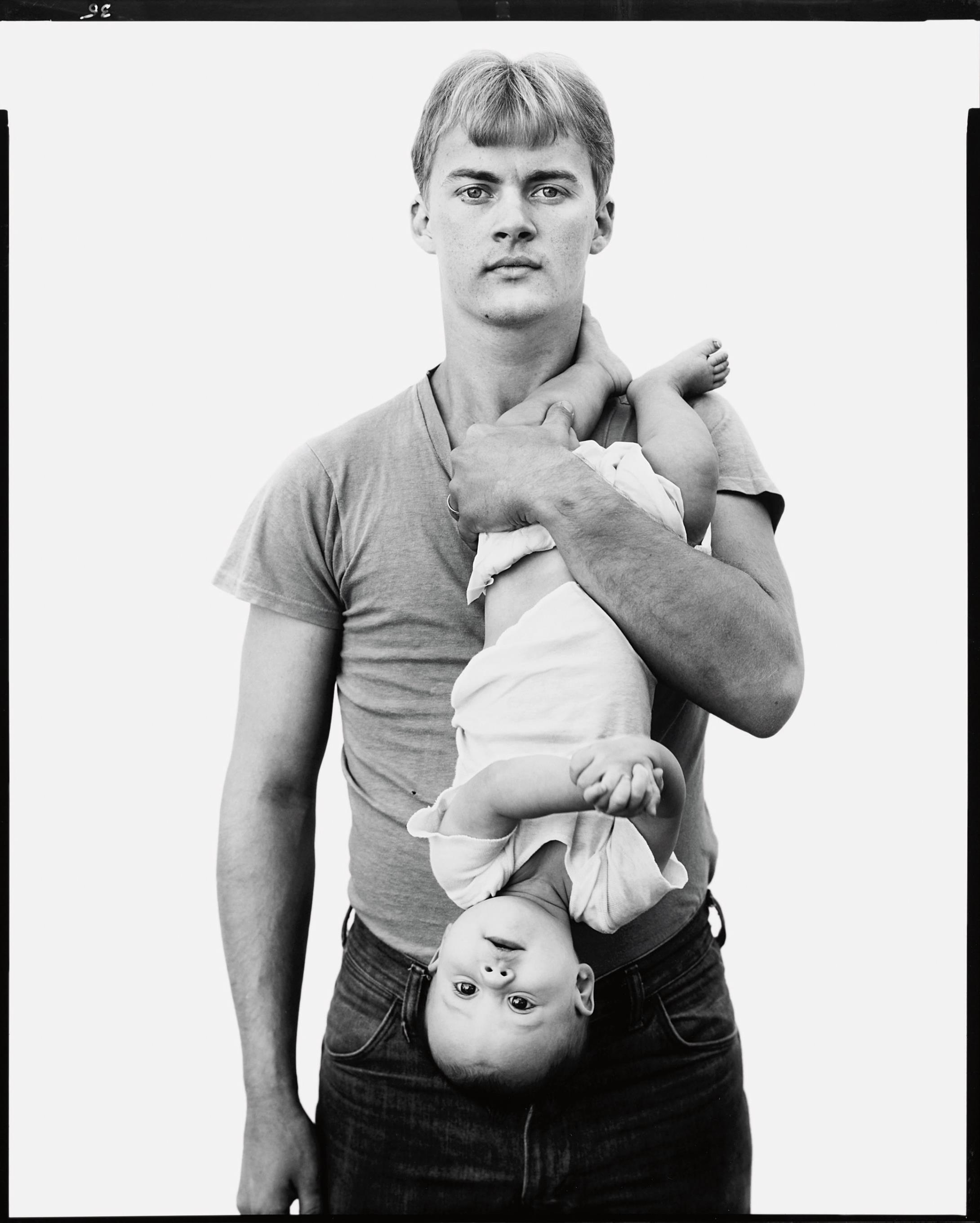 Richard Avedon-John Harrison, Lumber Salesman, And His Daughter Melissa, Lewisville, Texas, November 22, 1981-1981