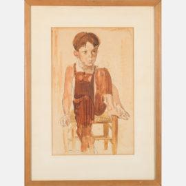 William Sommer-Boy in Brown-1936