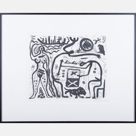 A.R. Penck-Untitled-1985