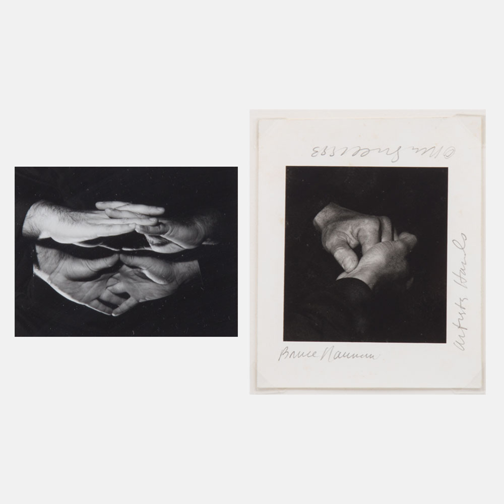 Rena Small-Hands of Bill Radawec and Bruce Nauman-1993