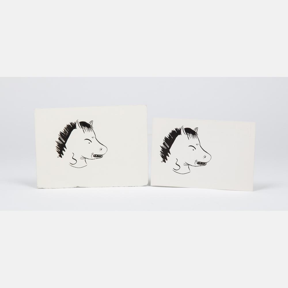 Ellen Berkenblit-Horsehead-1982