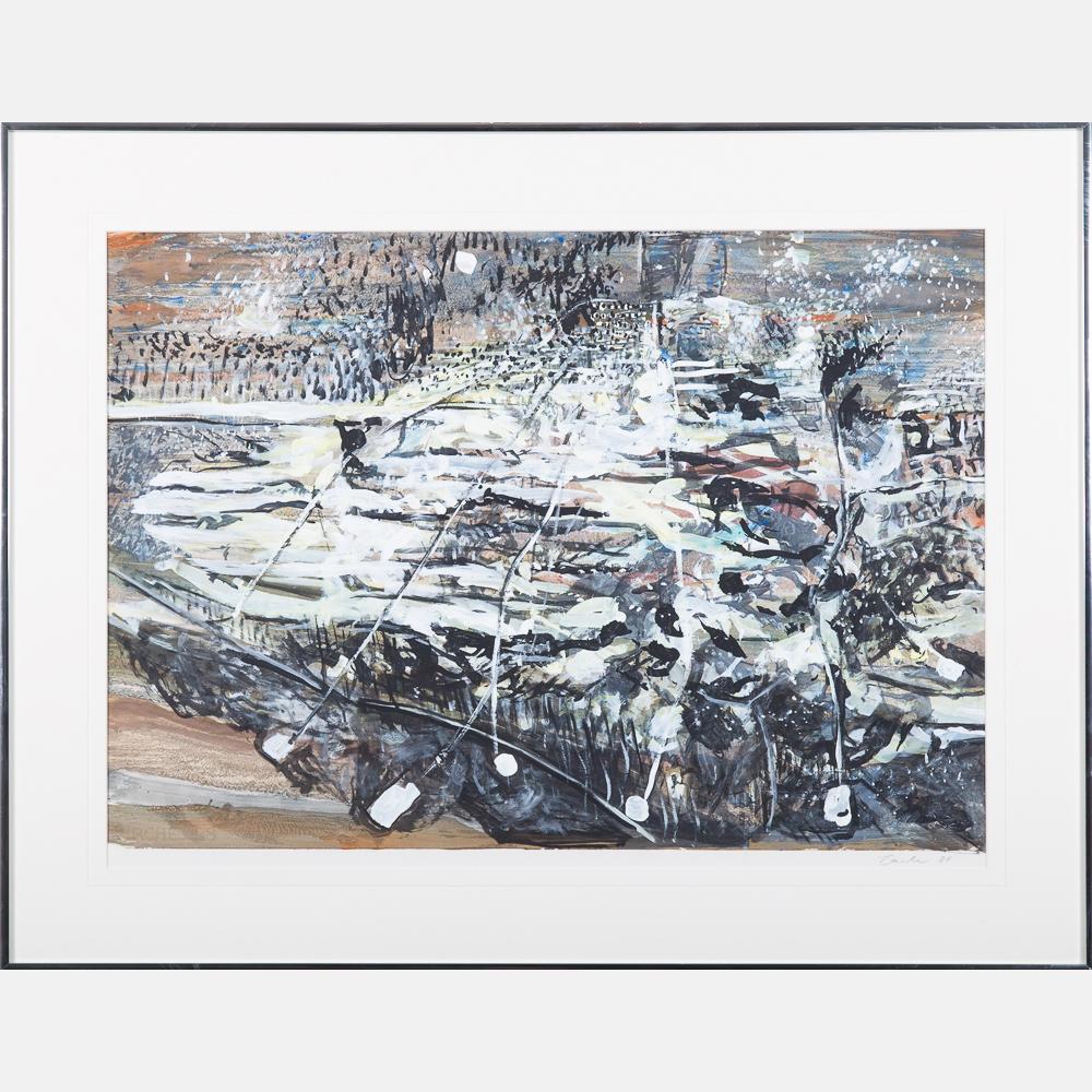 Friedhelm Lach-Ammonite Town-1988