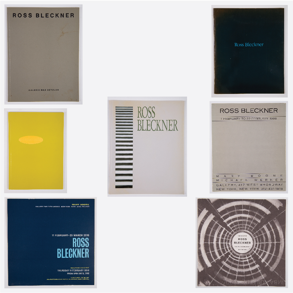 5 Books Related to Ross Bleckner-