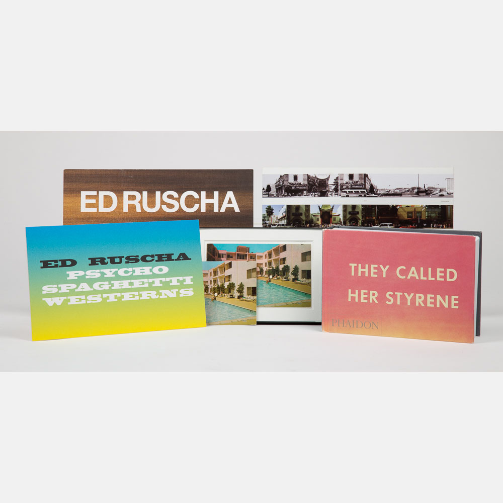Ed Ruscha-They Called Her Styrene-