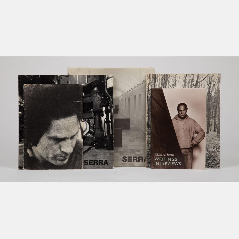 4 Books Related to Richard Serra-