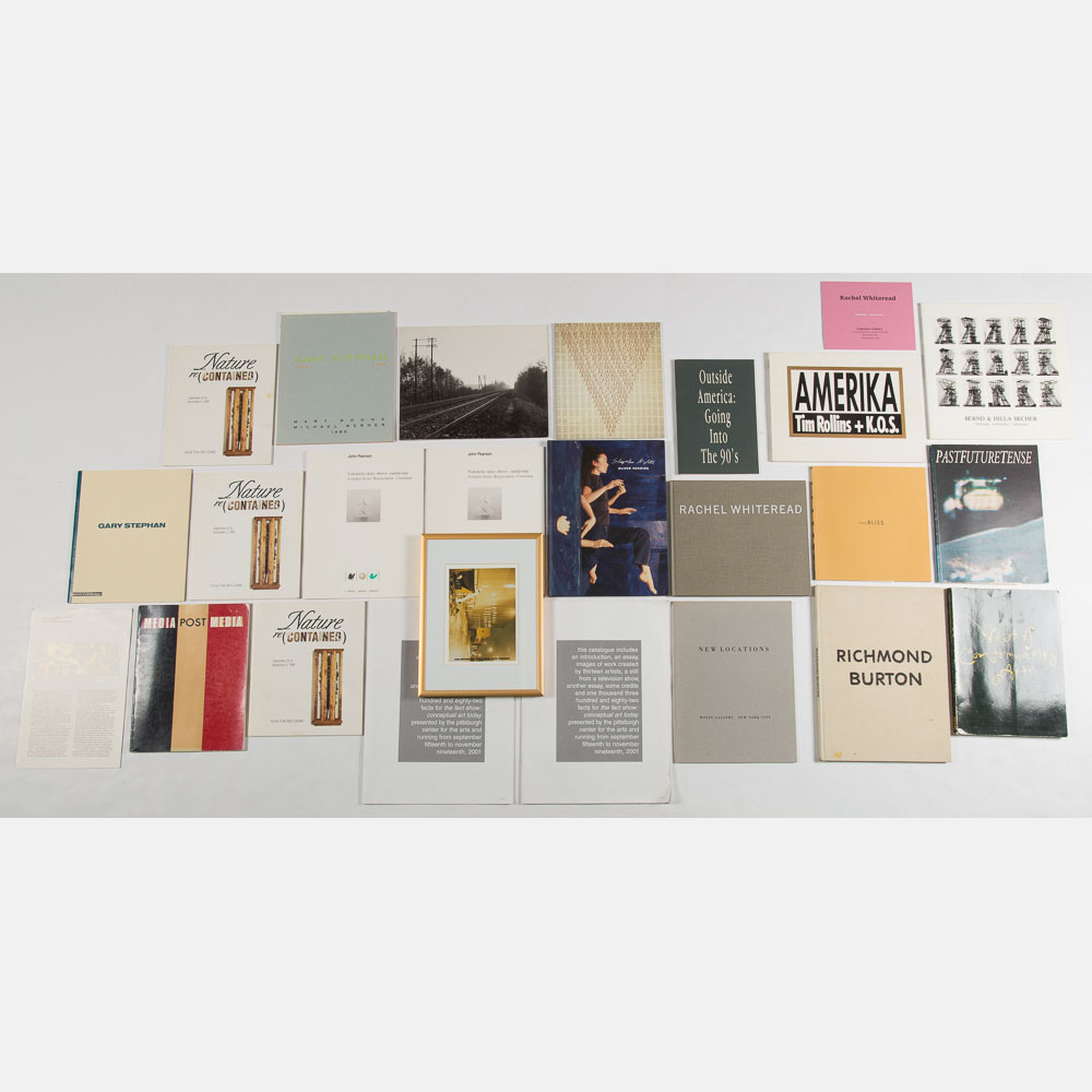 Exhibition Catalogs and Art Books-