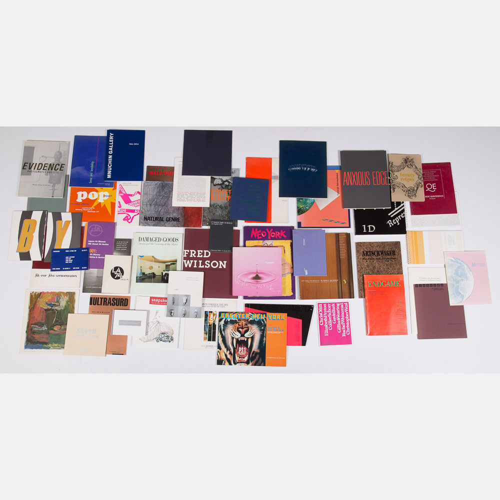 Exhibition Catalogs for Group Shows-