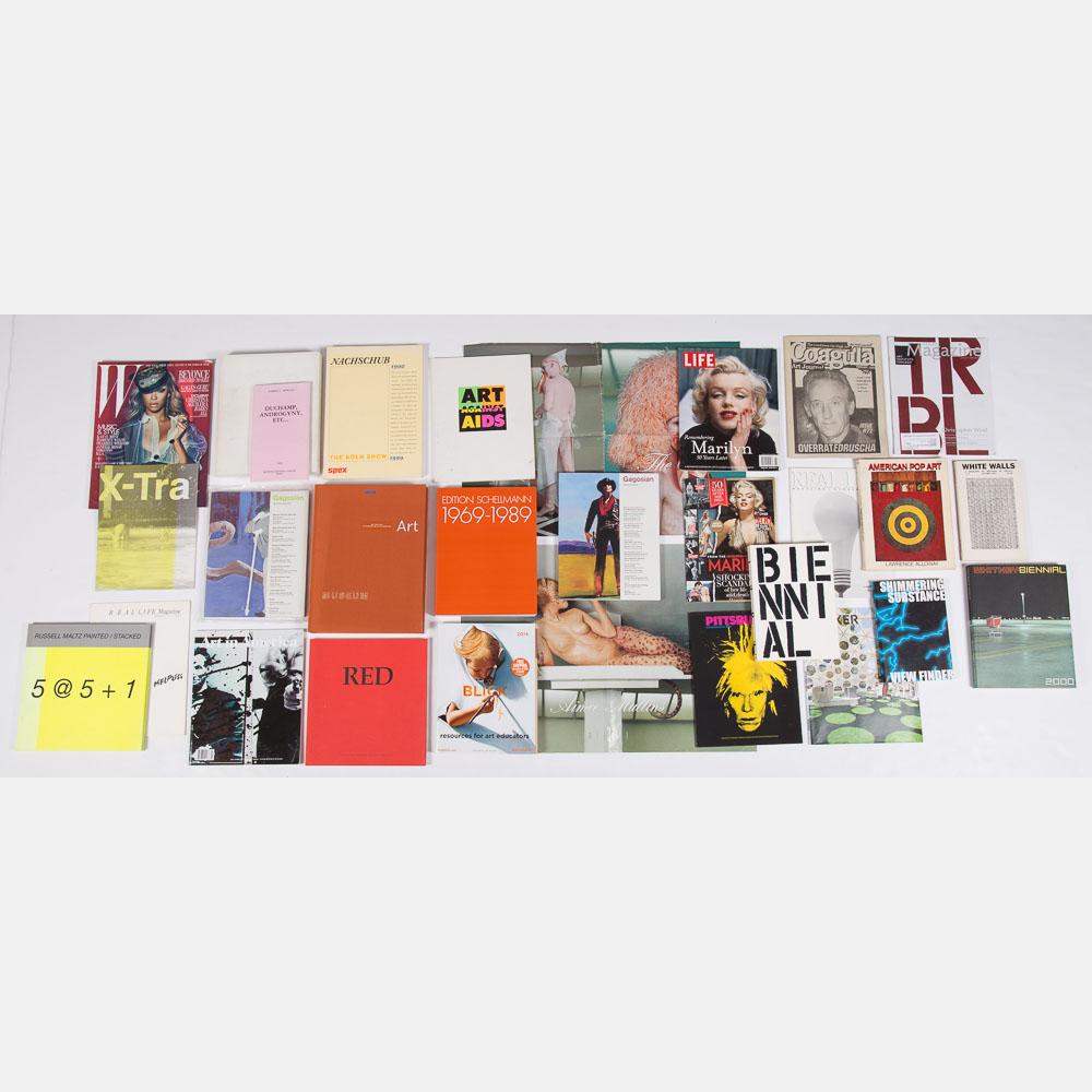 Books and Magazines Pertaining to Art-