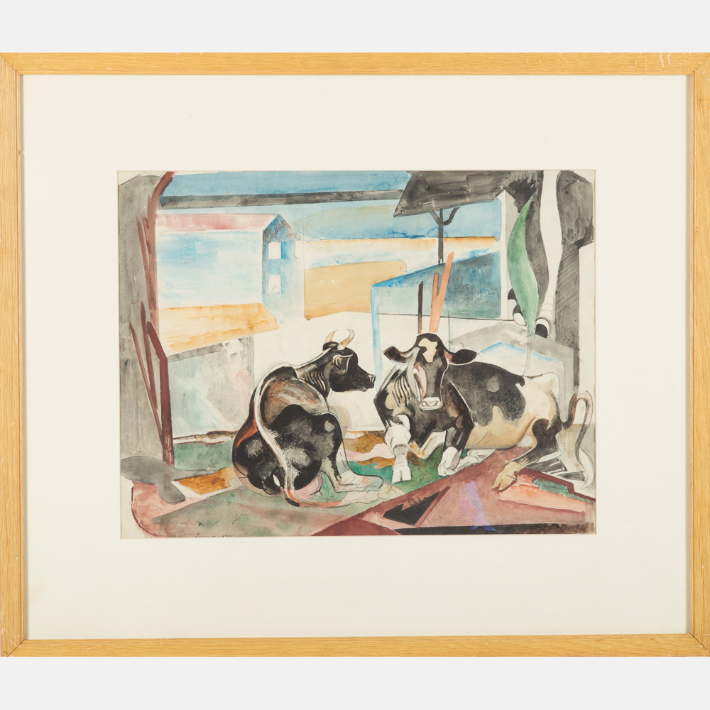 William Sommer-Waiting in Bethlehem-1940
